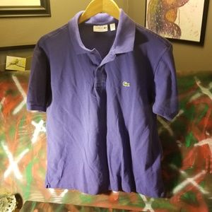 Lacoste Polo Shirt see measurements xl, not lol